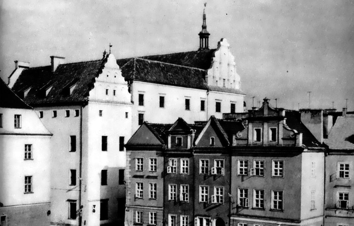 Archiwalne zdjęcie Pałacu Górków