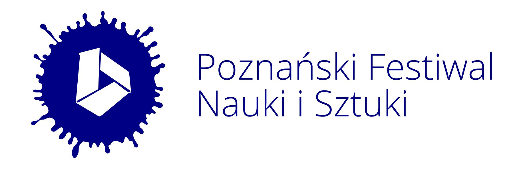 logotyp Poznańskiego Festiwalu Nauki i Sztuki